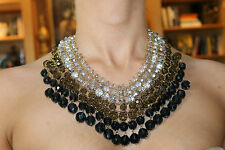 Stunning Kate Spade ' On The Avenue' Bib Necklace Sophisticated Coloring