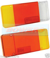 PAIR OF IVECO EUROCARGO DAILY TALBOT EXPRESS REAR TAIL LIGHT LAMP LENS R/H + L/H