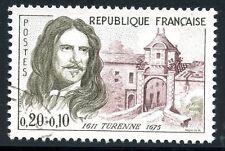 STAMP / TIMBRE FRANCE OBLITERE N° 1258 CELEBRITE / HENRI DE LA TOUR D'AUVERGNE