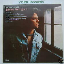 JOHNNY RODRIGUEZ - My Third Album - Ex Con LP Record