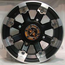"""4) 15"""" Rims Wheels for 2006-2008 Kawasaki Brute Force 650 SRA 393 MBML Aluminum"""