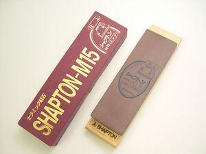 JAPANESE Shapton Sharpening Ceramic whetstones Stone M15 #5000 Dark Red