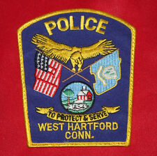 COLT Firearms West Hartford Conn Police Patch