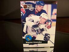 Rare Wayne Gretzky Pro Set 1991 Card #CC5 Scoring Leader Insert L.A. Kings NHL