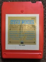 Stevie Wonder Greatest Hits 8 TRACK Tamla Motown