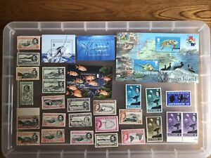 Ascension Island stamps MINT/USED unchecked Collection (cc586)