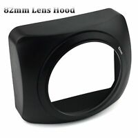 82mm Square Lens Hood Sun Shade for DV Camcorder Video Camera DSLR Wide Angle