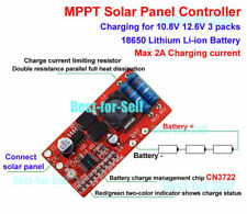 MPPT Solar Panel Controller Charging Module 3S 18650 lithium Batterie Ladegerät