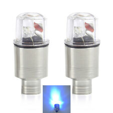 2 Pack Bike Car Wheel Tyre Tire Valve Cap 8 Modes LED Light Spoke Flashing Lamp