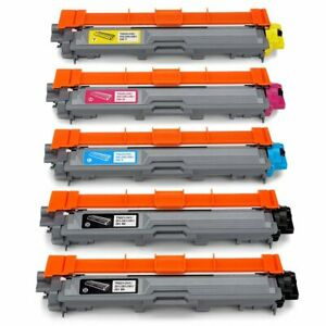 Office World Compatible Toner Cartridge Replacement 5-Pack TN221/TN225