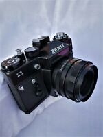Zenith 11 film camera with Helios-44M f2 58mm - TESTED - .