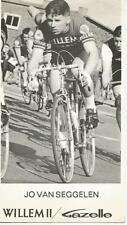 Cyclisme, ciclismo, wielrennen, radsport, cycling, JO VAN SEGGELEN
