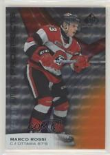 2019-20 Upper Deck SP Game Used CHL Edition Orange /199 Marco Rossi #72