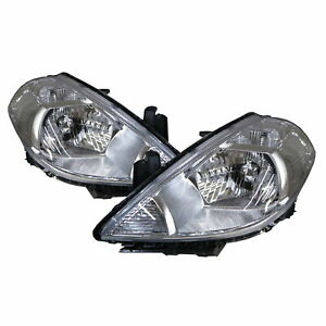 TIIDA C11 MK1 08-12 Facelift 4D/5D Clear Headlight W/ Motor CH V2 for NISSAN LHD