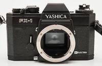Yashica FX-1 SLR-Kamera Gehäuse Body analoge Spiegelreflexkamera schwarz