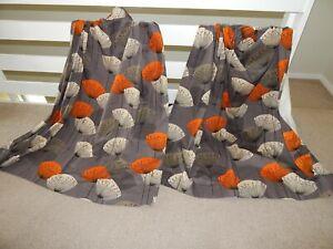 SANDERSON Dandelion Clocks Fabric Lined MTM Curtains - Slate