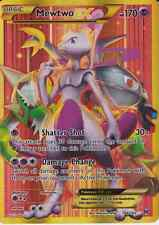 Pokemon Card: MEWTWO EX 164/162 Breakthrough Holo Full Art Secret Rare NM