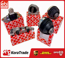VOLVO S60 XC90 2.4D D5 GEARBOX ENGINE MOUNT FULL COMPLETE SET 5 PCS FEBI