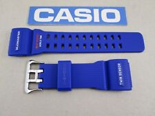 Genuine Casio G-Shock Mudmaster GG-1000TLC-1 blue resin watch band strap