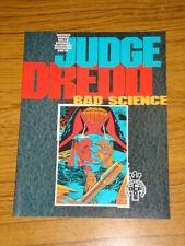 JUDGE DREDD BAD SCIENCE ALAN GRANT GRAPHIC NOVEL 9781853862304