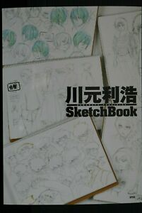 JAPAN Kawamoto Toshihiro Sketch Book (Wolf's Rain,Gosick,Noragami,Kekkai Sensen