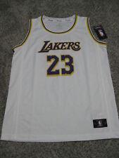 Lebron James Los Angeles Lakers Youth XL White Fanatics Replica Jersey