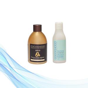 COCOCHOCO Keratin Treatment Gold 250 ml + Clarifying Shampoo 150 ml