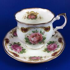 Queen's Rosina Balmoral Fine Bone China Tea Cup And Saucer