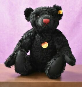 Steiff 005985 Classic Black Growler Teddy Bear