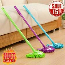 Degree 180 Rotatable Adjustable Triangle Lazy Cleaning Mop NEW