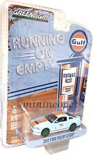 GREENLIGHT 41020 F 2012 FORD SHELBY GT500 GULF OIL 1/64 CHASE GREEN MACHINE