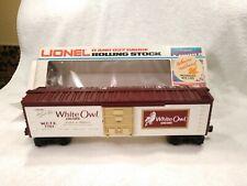 Lionel 6-7707 White Owl Cigars Tobacco Boxcar   NIB