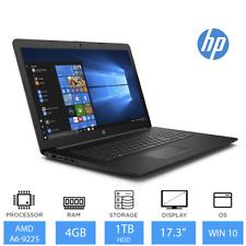 "HP 17-ca0003na 17.3"" Best Laptop Deal AMD A6-9225, 4GB RAM, 1TB HDD, Windows 10"