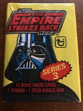 1980 Topps Empire Strikes Back Series #3 Sealed 12 Card Wax Pack