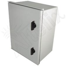 Altelix 16x12x8 Fiberglass NEMA Box 3X Weatherproof Outdoor Equipment Enclosure