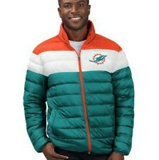 NFL Miami Dolphins NWT Quilted Puffer Jacket Size Medium