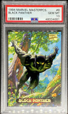 Black Panther 1994 Marvel Masterpieces #8 GEM MINT PSA 10 POP 3