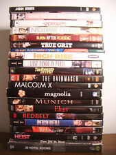 Lot of 21 DVDs Crime Drama Coen Bros Mean Streets High-Rise Last Tango in Paris