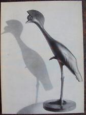 FRANCOIS POMPON, SCULPTEUR ANIMALIER BOURGUIGNON, DIJON, 1964.