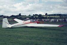 35mm Aircraft Slide - G-AXIW 1969 Scheibe SF-25B Falke (G25)