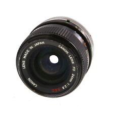 Canon 24mm F/2.8 SSC Breech Lock FD Mount Lens manual focus {55} UG
