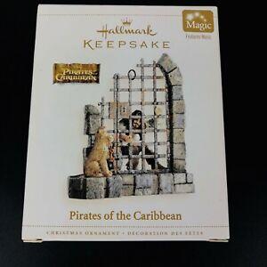 2006 Hallmark Keepsake Pirates of the Caribbean Disney Magic Musical Ornament