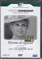 2 Dvd Sceneggiati Rai **RITRATTO DI SIGNORA** con Ileana Ghione completa 1975