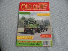 OLD GLORY VINTAGE #66 AUG 95 USA TRACTOR S. AFRICA MIDMAR HARWICH FERRY REBUILD