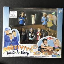 Nativity Build-a-Story Christmas Manger Scene Bible Toys