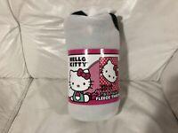 Hello Kitty By Sanrio Super Plush Throw / Blanket New Sealed