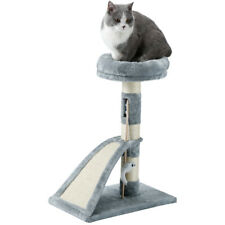 New listing 26'' Cat Tree Scratching Condo Furniture Scratch Post Pet Kitty Play Toy House
