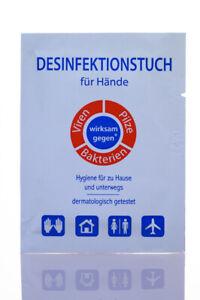 500 Desinfektionstücher, Desinfektionstuch, Desinfektion mit Alkohol