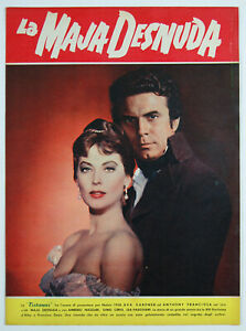 brochure film LA MAJA DESNUDA Ava Gardner Anthony Franciosa 1958 ottime condiz.