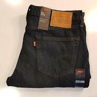 NWT Levi's 511 Premium Slim Fit Stretch 34 x 32 OverDye Mens Jeans Distressed